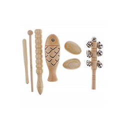 Holz Percussion Set